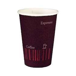 Bicchiere caffè Coffee Quick Duni in cartone viola cl 12