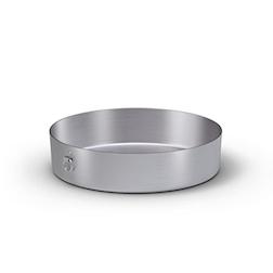 Tortiera con anello Ballarini in alluminio cm 45
