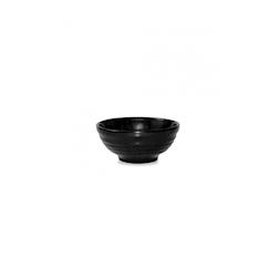 Coppetta Ripple Churchill in ceramica vetrificata nera cl 28