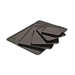 Vassoio rettangolare in san nero cm 42x30