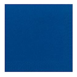 Tovagliolo Duni in cellulosa due veli cm 40 x 40 blu scuro