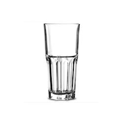 Bicchiere granity alto impilabile in vetro trasparente cl 31