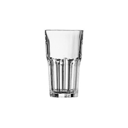 Bicchiere granity alto impilabile in vetro trasparente cl 42