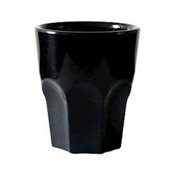Bicchiere in SAN rox nero cl 29