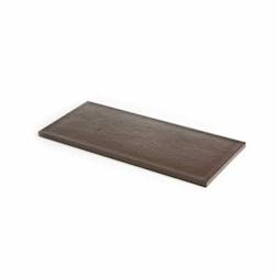 Tagliere a servire MC polietilene 50,5x22,5x1,5cm effetto legno marrone