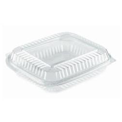 Contenitore rettangolare monouso per alimenti in PET trasparente lt 3,31