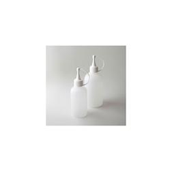 Squeeze bottle con tappo 100% Chef in PE trasparente ml 125