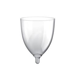 Calice vino maxi Gold Plast trasparente cl 30