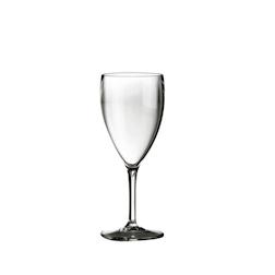 Calice vino in policarbonato trasparente cl 34