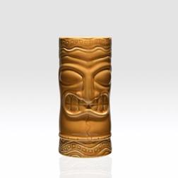 Tiki mug totem ceramica arancio 50 cl