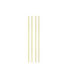 Cannuccia drinking straw plastica cm 21 avorio