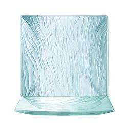 Piatto quadrato Linea Mineral Arcoroc in vetro cm 25