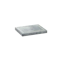 Ricambio pietra ollare rettangolare cm 16x20