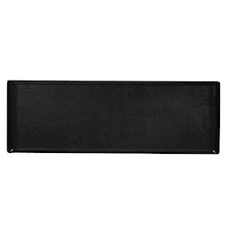 Vassoio Linea Buffet Churchill rettangolare in melamina nero cm 58 x 20