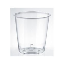 Bicchiere monouso Kristall ISAP in polistirolo base larga trasparente cl 30