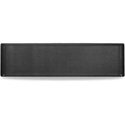 Vassoio Linea Buffet Churchill rettangolare in melamina nero cm 56 x 15,3
