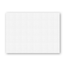 Tovaglietta in carta riciclata bianca cm 30 x 40