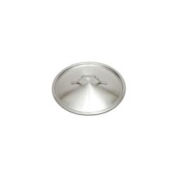 Coperchio piatto leggero in acciaio inox cm 18