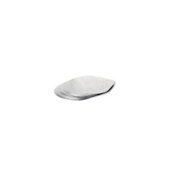 Tappo per vasetto yogurt o dolci 100 % Chef da 40cl in alluminio