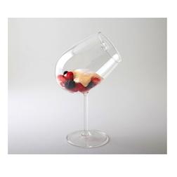 Coppa Chardonay 100% Chef in vetro con cucchiaio pyrex cm 22