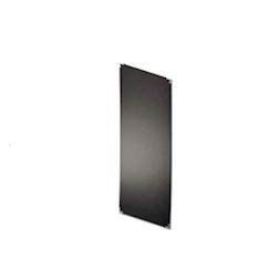 Lavagna Dag Style alluminio bilaminato 150x40cm da esterno nero