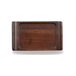 Vassoio Linea Buffet Churchill rettangolare in legno acacia cm 17 x 10