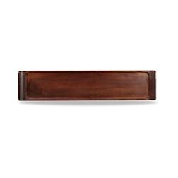 Vassoio Linea Buffet Churchill rettangolare in legno acacia cm 46x10