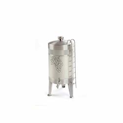 Dispenser vino liquori acciaio inox lt 2