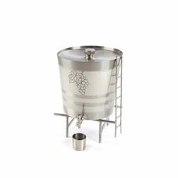 Dispenser vino liquori acciaio inox lt 5