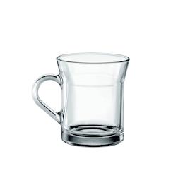 Bicchiere cappuccino Ceylon in vetro cl 33,5