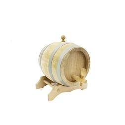 Botticella vino liquori in legno 3 lt