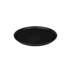 Vassoio antiscivolo MC 35cm rotondo nero