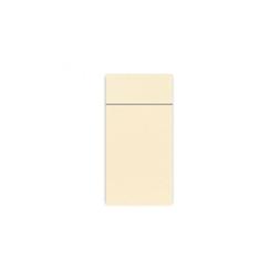 Tovagliolo portaposate Slim Duni in carta Dunisoft champagne cm 40x33