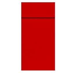 Tovagliolo portaposate Duniletto Duni in carta rossa cm 40x33