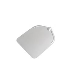 Pala per pizza rettangolare liscia in alluminio 45 cm Stil Casa