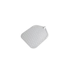 Pala per pizza rettangolare forata in alluminio 32 cm Stil Casa