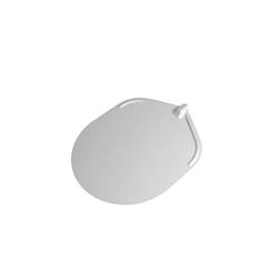 Pala per pizza ovale Stilcasa liscia senza manico in alluminio cm 32