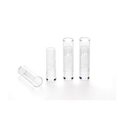 Contenitore per rossetto gelato sorbetto lipstick policarbonato trasparente