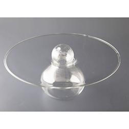 Vassoio presentazione Ovni 100% Chef in vetro cm 23