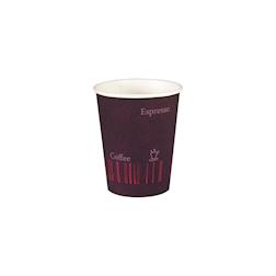 Bicchiere bibita monouso Coffee Quick Duni in cartone 35 cl marrone
