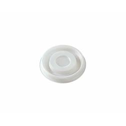 Coperchio monouso per bicchiere caffè Duni polistirene 7 cm bianco