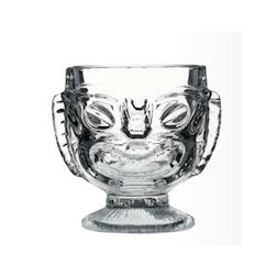 Tiki cup The Mask in vetro trasparente cl 41,4