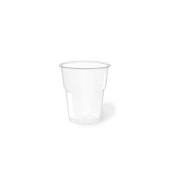 Bicchiere bibita monouso Flo PET 25 cl trasparente