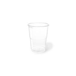 Bicchiere bibita monouso Flo PET 30 cl trasparente