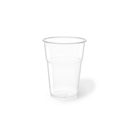 Bicchiere bibita monouso Flo PET 40 cl trasparente