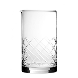 Mixing glass tipo Yarai vetro 70 cl taglio rete