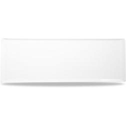 Vassoio Linea Buffet Churchill rettangolare in melamina bianco cm 58 x 20