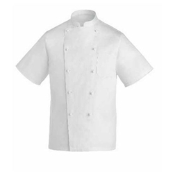 Giacca cuoco Rex Egochef cotone taglia S mezza manica bianco