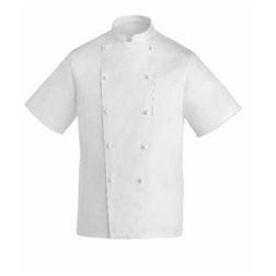Giacca cuoco Rex Egochef cotone taglia L mezza manica bianco
