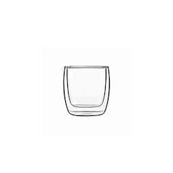 Bicchiere termico Michelangelo Bormioli Luigi in vetro cl 24
